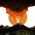 Volcano Eruption by TripleStrikeM