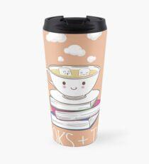 Books + Tea Travel Mug