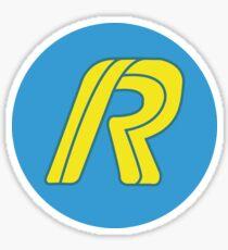 Running Man Logo Stickers   Redbubble