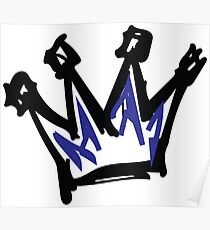 KC Royals Crown Poster