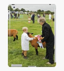 Agricultural Show sheep competition iPad Case/Skin