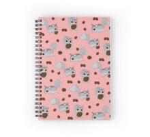 Nutkin Pattern Spiral Notebook