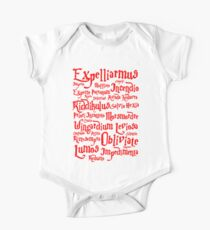 Expelliarmus Spell Quote One Piece - Short Sleeve