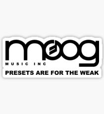 Moog Music Inc Sticker