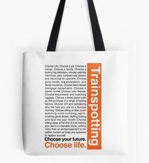 Choose life. Tote Bag