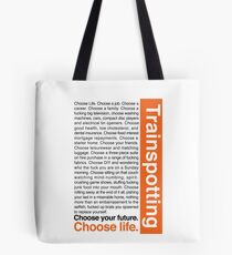 Choose life. Tote Bag