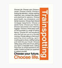 Choose life. Art Print