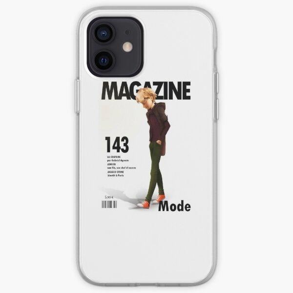 Adrien Agreste magazine cover iPhone Soft Case