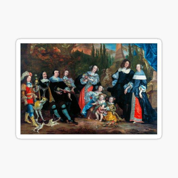 Michiel de Ruyter and his Family Sticker