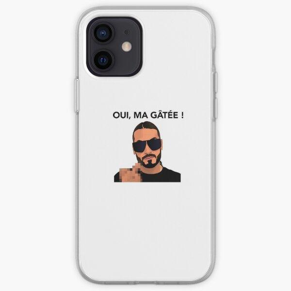SCH Oui Ma Gatée Coque souple iPhone