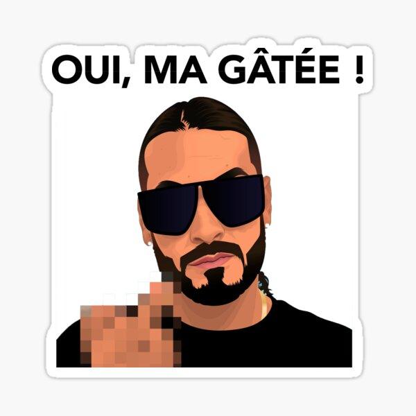 SCH Oui Ma Gatée Sticker