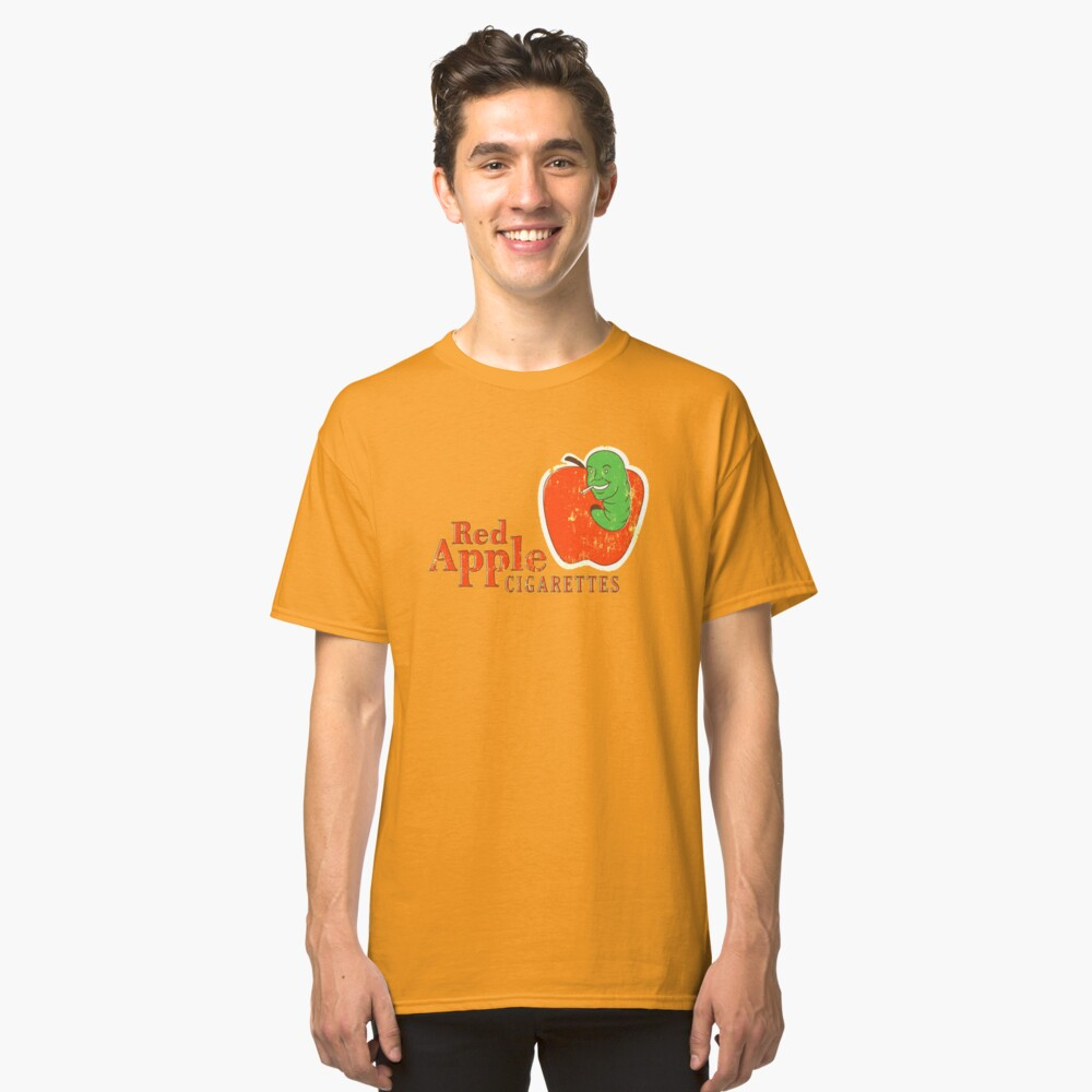 Red Apples Cigarettes Classic T-Shirt