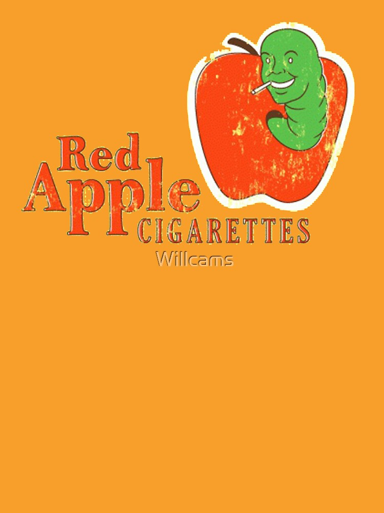 Red Apples Cigarettes by Willcams