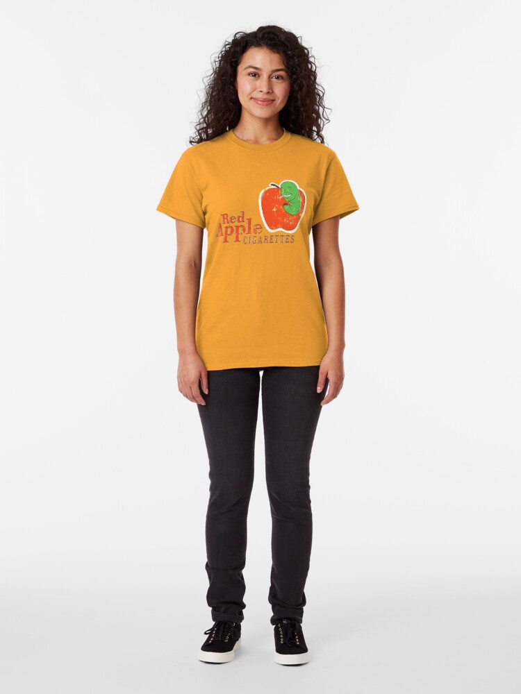 Alternate view of Red Apples Cigarettes Classic T-Shirt