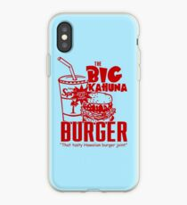 The Big Kahuna Burger iPhone Case