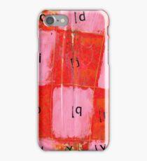 alphabet iPhone Case/Skin
