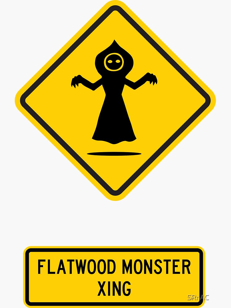 Flatwoods Monster Xing by SRnAC