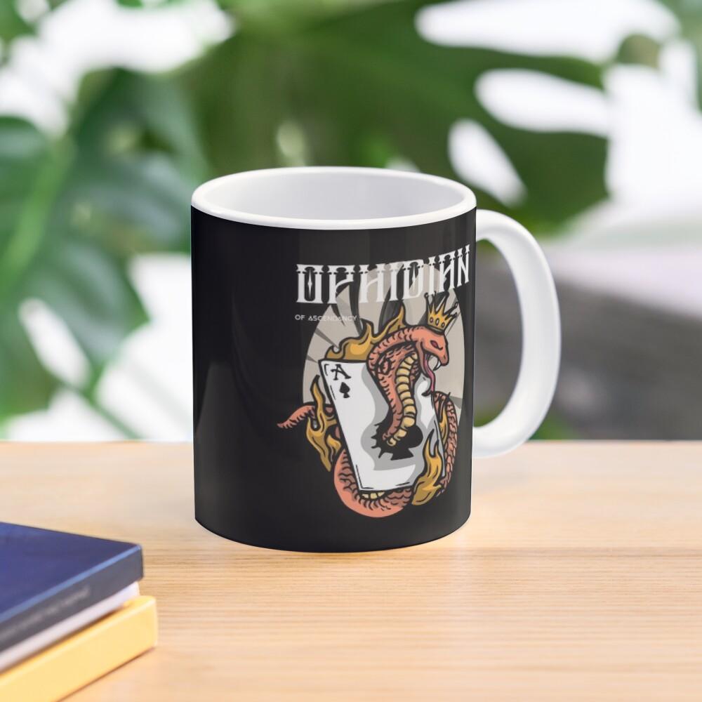 Ophidian Of Ascendancy Holds All The Aces Dark Design Mug