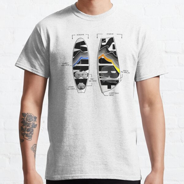 Wind Surf Gear Board Sail Cool Design Classic T-Shirt
