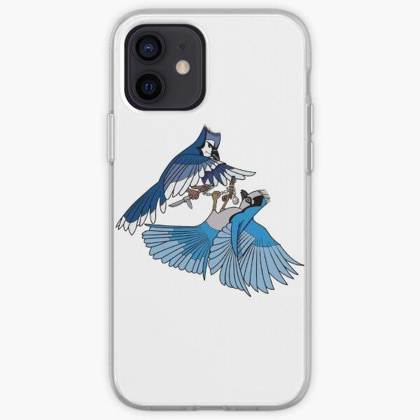 Birb Fight iPhone Soft Case