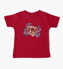 Cycling Inspired Sugar Skull Baby Tee