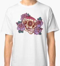 Cycling Inspired Sugar Skull Classic T-Shirt