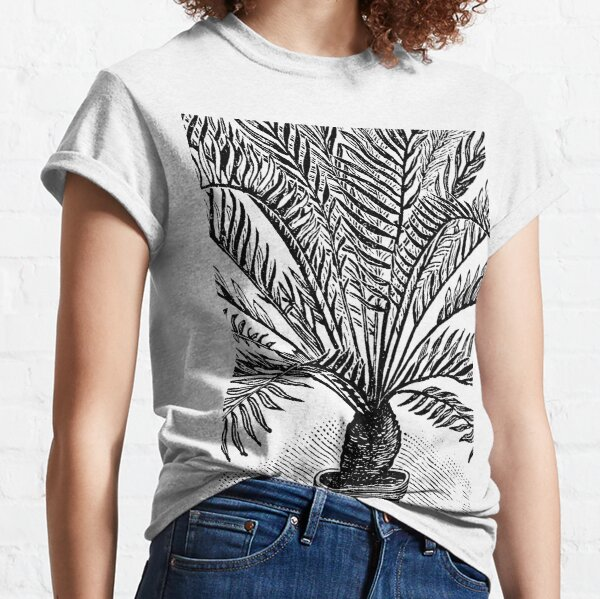 Victorian illustration of cycad Classic T-Shirt