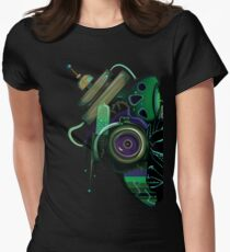 Bio-Mechanical Mask Women's Fitted T-Shirt