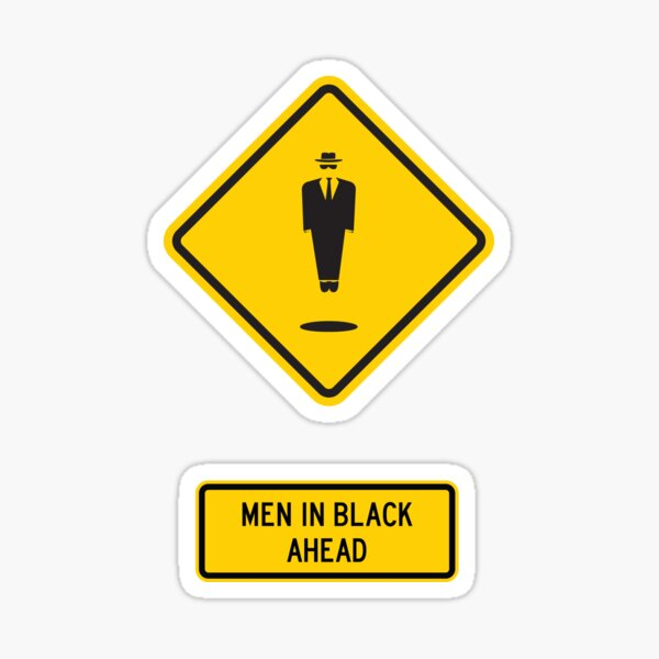 Men In Black Xing Sticker