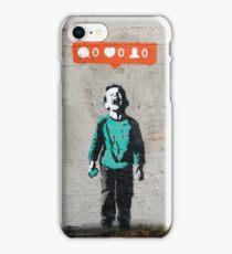 Street Art Nobody Likes Me iPhone Case/Skin