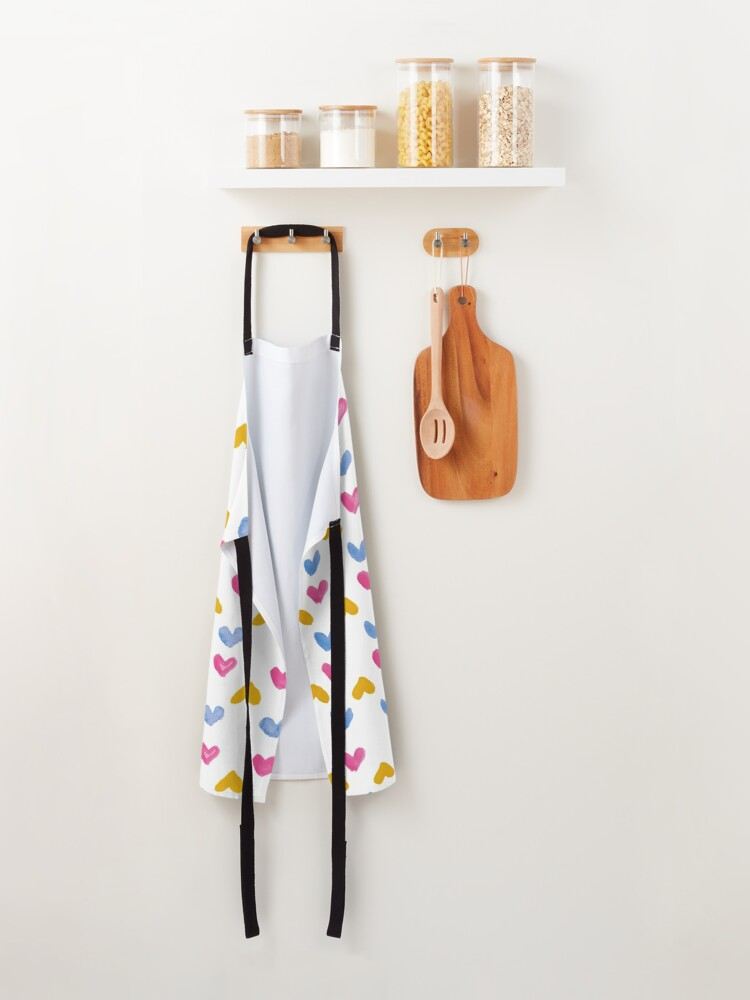Alternate view of Them Hearts Apron
