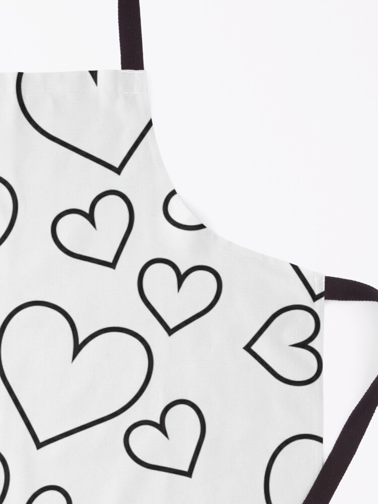 Alternate view of Clear Heart Apron