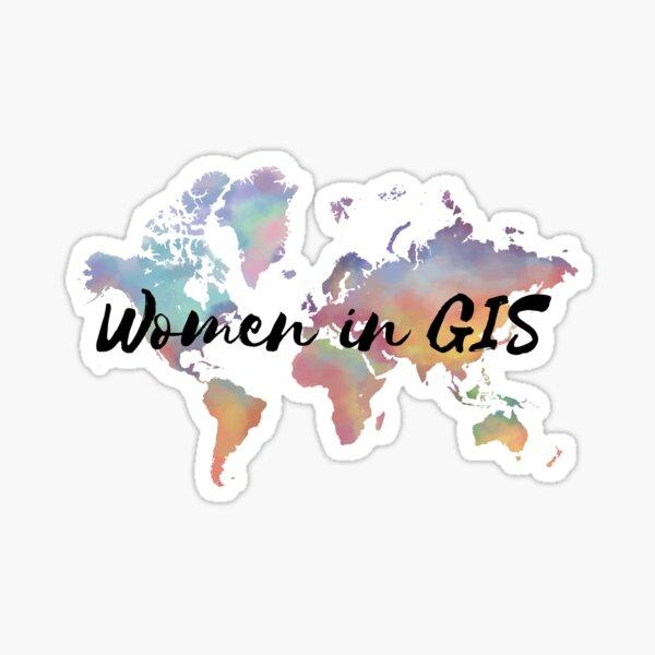 Women in GIS Sticker