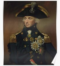 Admiral Horatio Nelson Poster