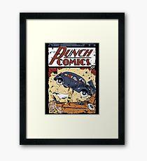 Punch Comics Framed Print
