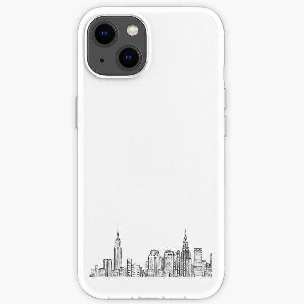 Skyline der Stadt iPhone Flexible Hülle