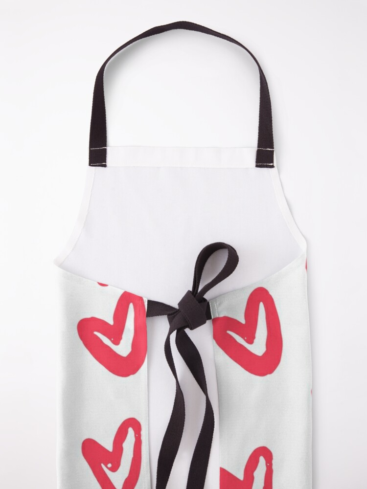 Alternate view of Red Heart Apron