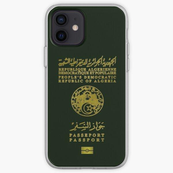 Passeport Algérien v2 Coque souple iPhone