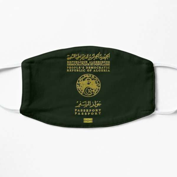 Passeport Algérien v2 Masque sans plis