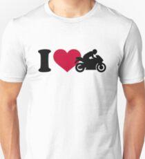 I love motorcycle T-Shirt