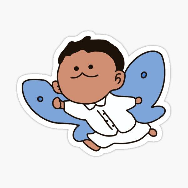 Phil comme un papillon | Le pays imaginaire promis Sticker
