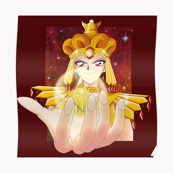 Sailor Galaxia Poster
