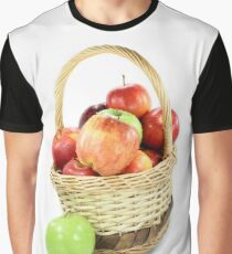 Fall apples assorts in basket Graphic T-Shirt