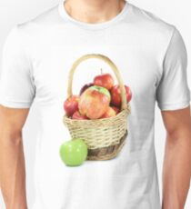 Fall apples assorts in basket T-Shirt