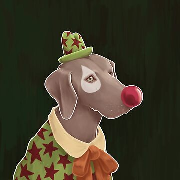 weimaraner by cheddiewong