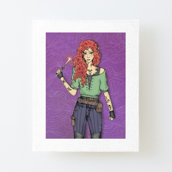 Clary Lámina montada de lienzo