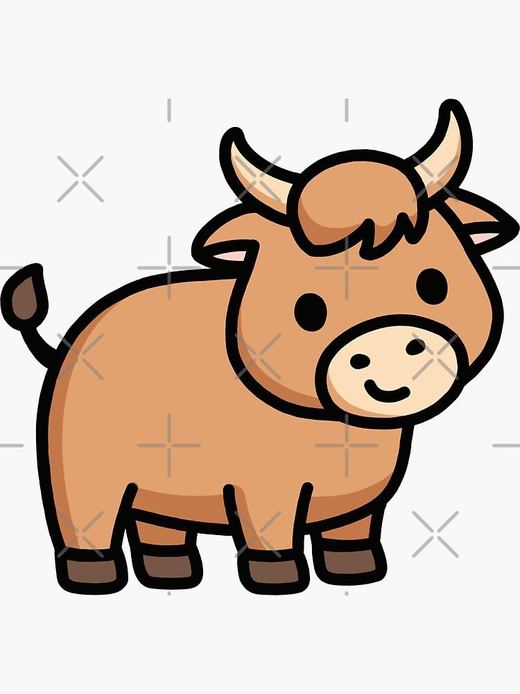 Ox by littlemandyart