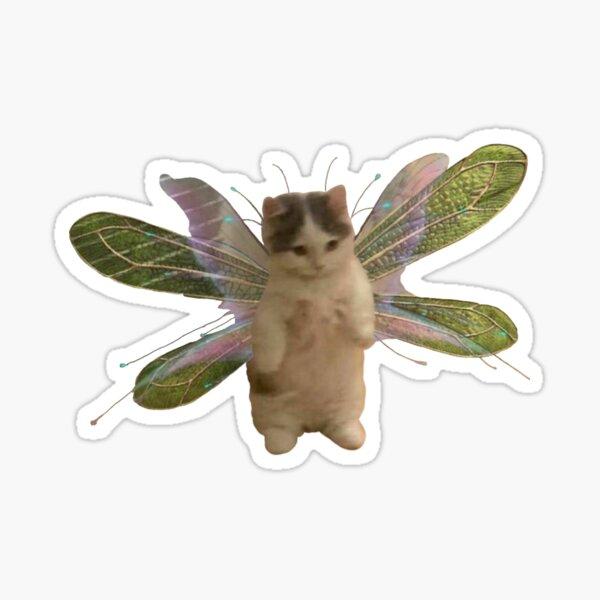 baby fairy kitten Sticker