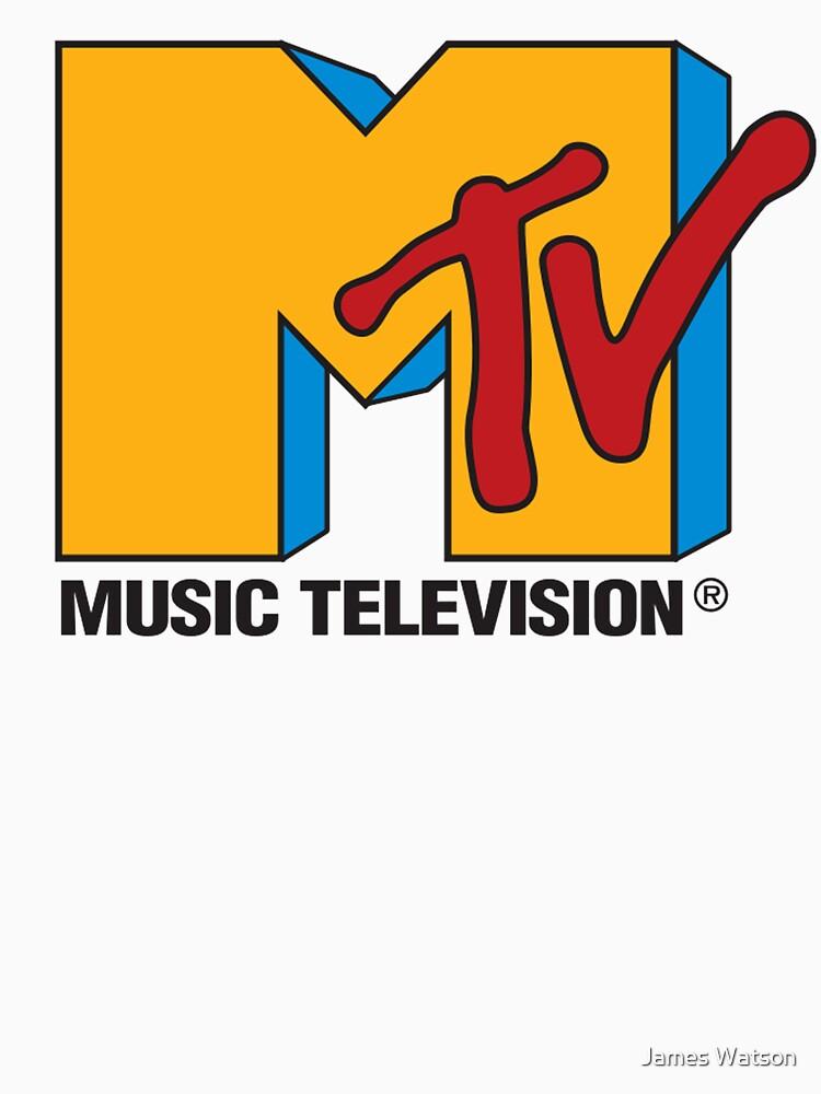 TShirtGifter Presents MTV 90s Logo