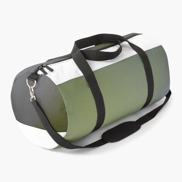 Green Frog Eye Macro Photography Duffle Bag